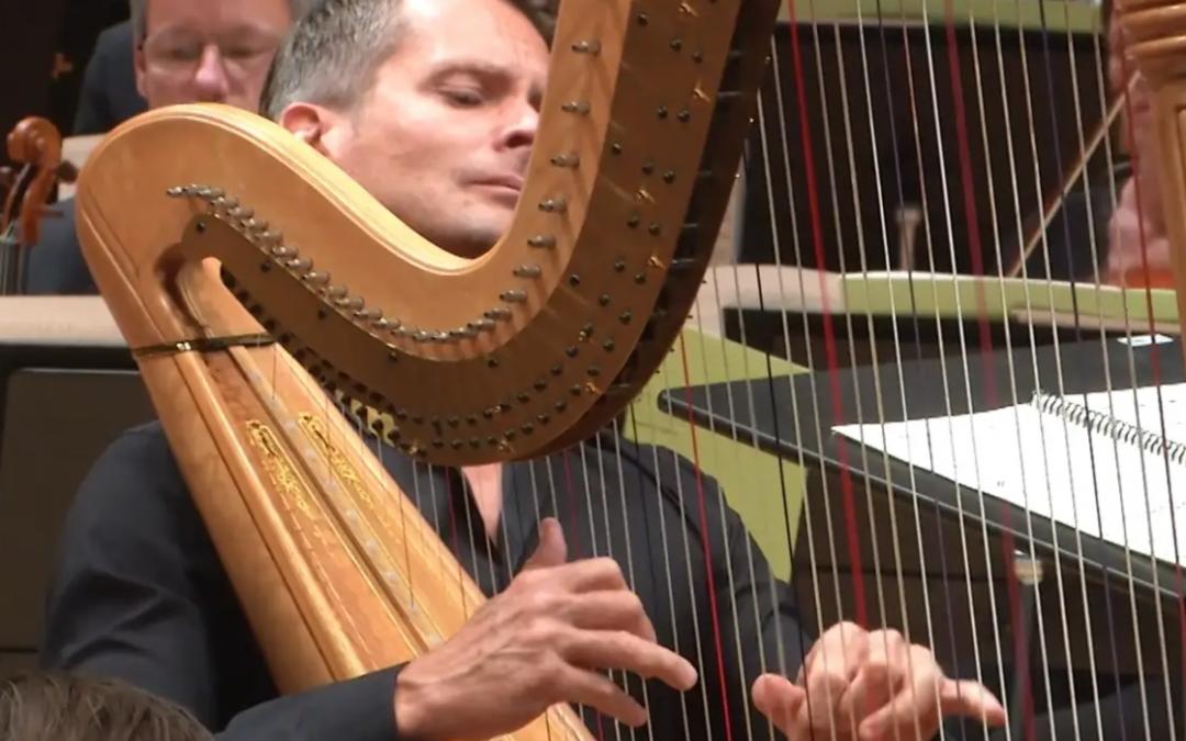Harpa och Beethovens Femma