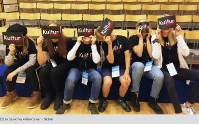 Satsning för att utbilda unga kulturarrangörer i Sjöbo