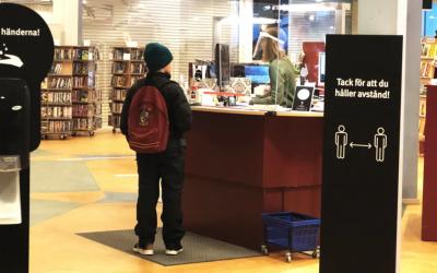 Ökad utlåning av e-böcker under pandemins första år