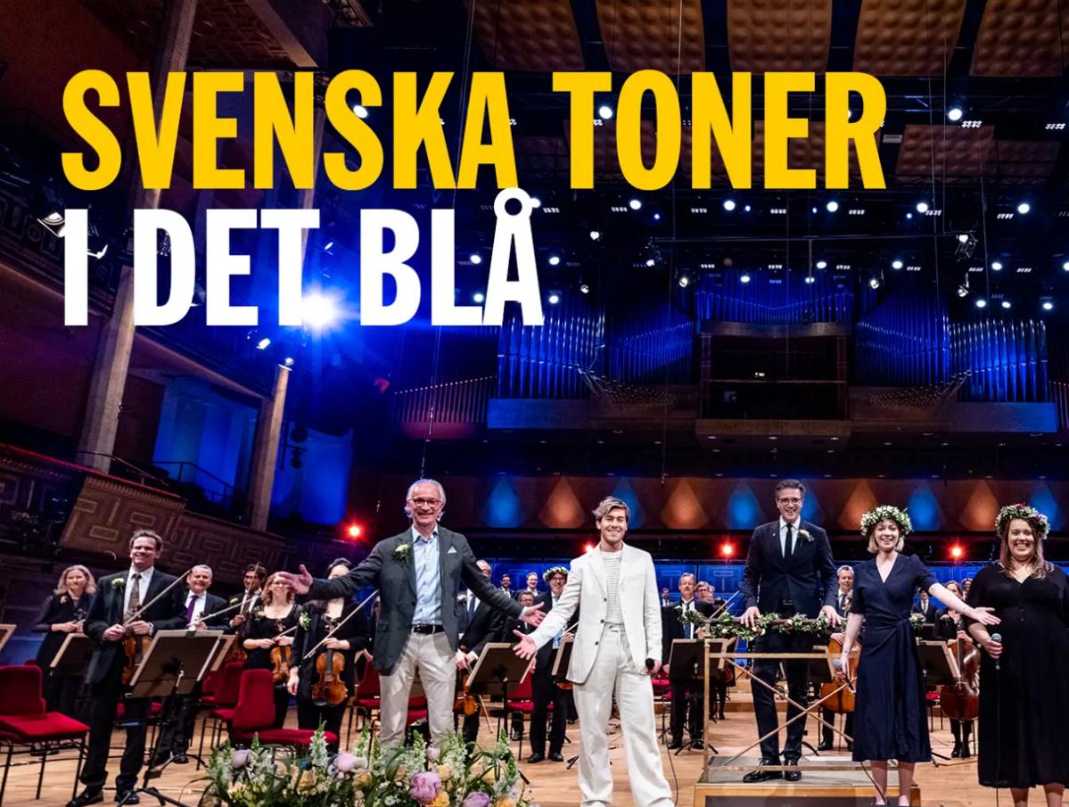 Svenska toner i det blå