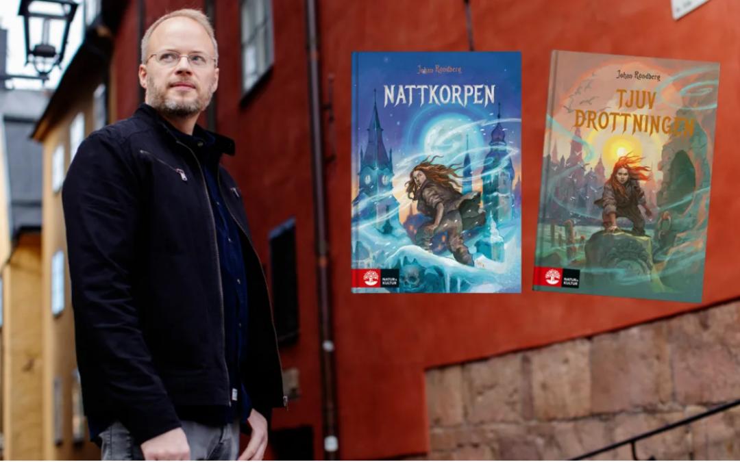 Johan Rundberg vinner Crimetime Award: Årets barndeckare 2021